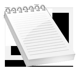 Текст, бележки, бележник, записки